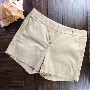 "J. Crew Factory 5"" ""Broken-In"" Chino Shorts"